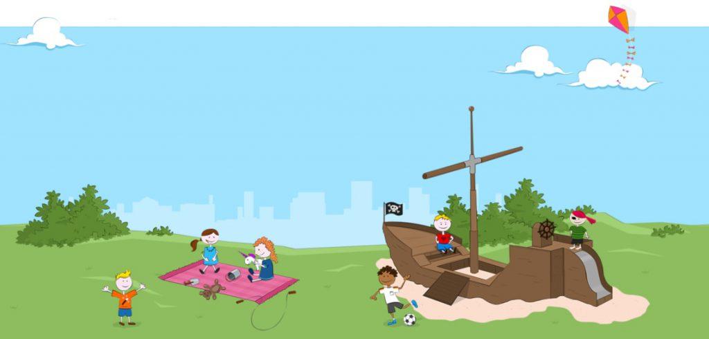 Platz vormerken in der Kindertagesstätte Erlebnishaus mit dem Kita Navigator Hürth