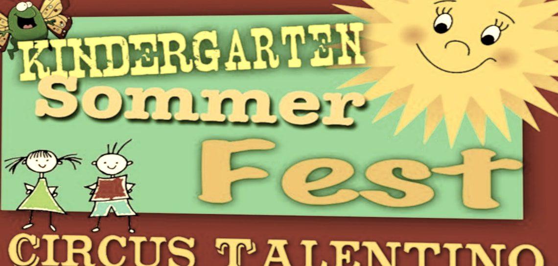 Sommerfest 2016 der Kindertagesstätte Erlebnishaus in Hürth Gleuel